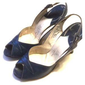 NEWTON ELKTON vintage high heel SZ 5 1/2